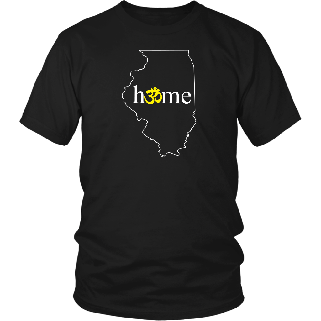 Illinois Om T-Shirt