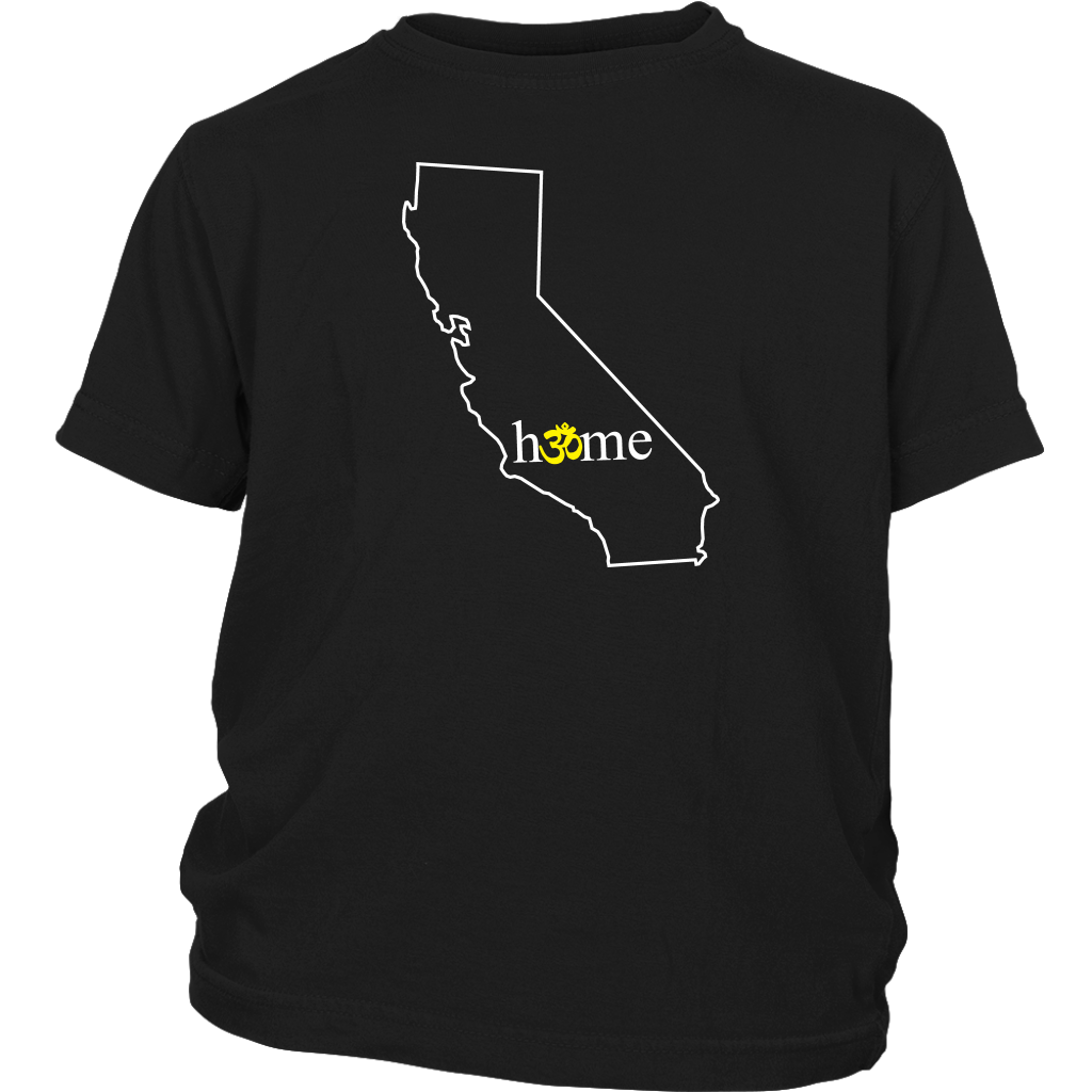 California Om Youth T-Shirt