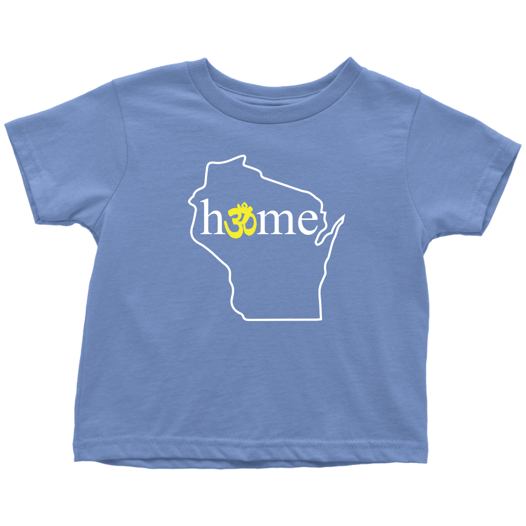 Wisconsin Om Toddler T-Shirt