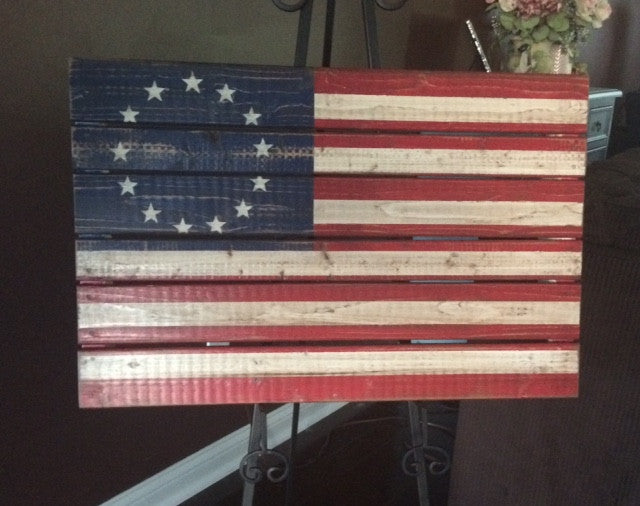 Betsy Ross Flag, Medium