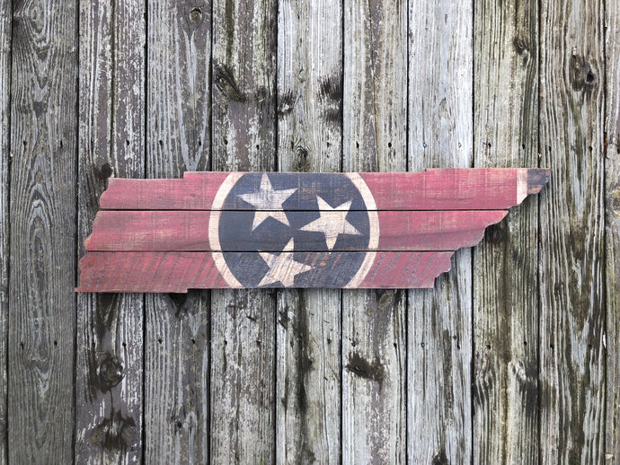 State of Tennessee Cutout