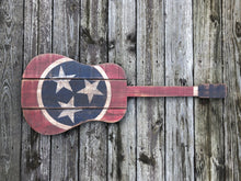 Tennessee State Guitar Cutout
