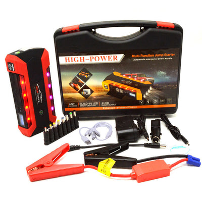 HIGH CAPACITY MULTI-FUNCTION JUMP STARTER & USB CHARGER
