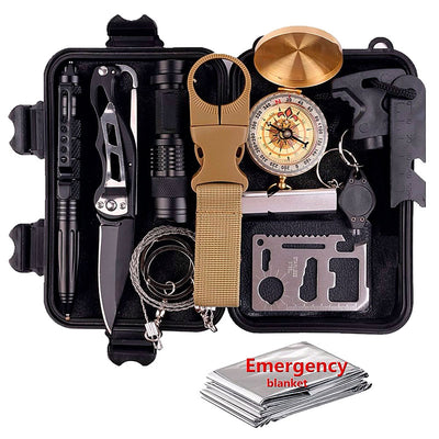 PREPPER UNION 13-IN-1 EDC SURVIVAL KIT