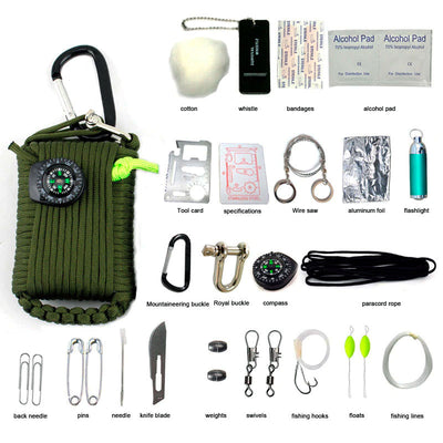 PREPPER UNION PARACORD SURVIVAL KIT