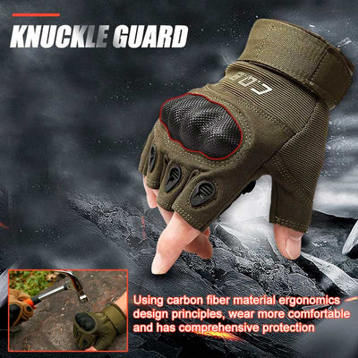 PREPPER UNION TACTICAL GLOVES WITH FINGER PROTECTION