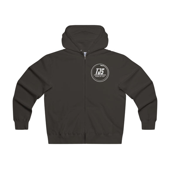 Exclusive All Black Team Jet Set Zipped Sweater - Lightweight Hoodie