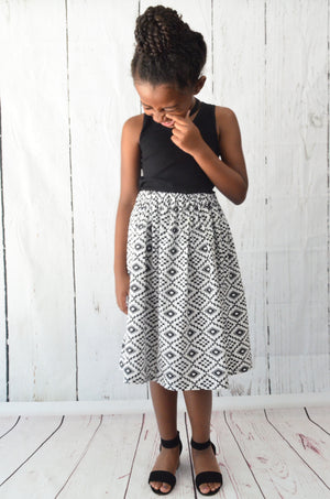 "The ""Pippa"" Midi Skirt"