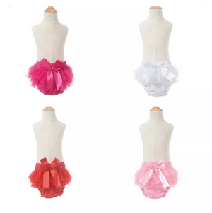 Toddler Baby Girl Ruffle Shorts and Headband