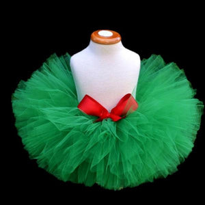 Girls Meghan Tutu Skirt with Red Bow