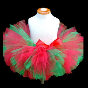 Girls Meghan Tutu in Red and Green