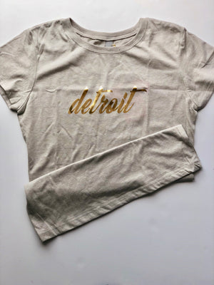 Girls Detroit Tee