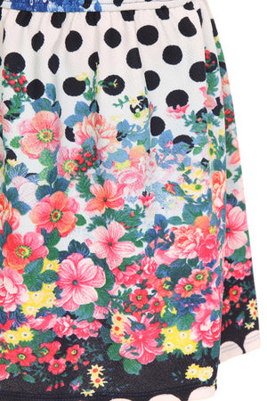 Girls Floral Day Dress