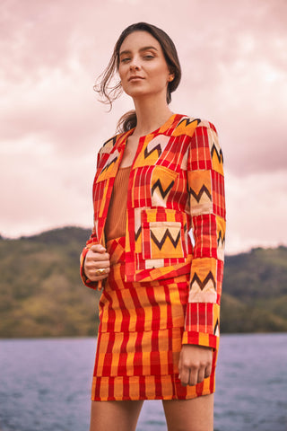 KENTE JACKET NO. 6 - 2