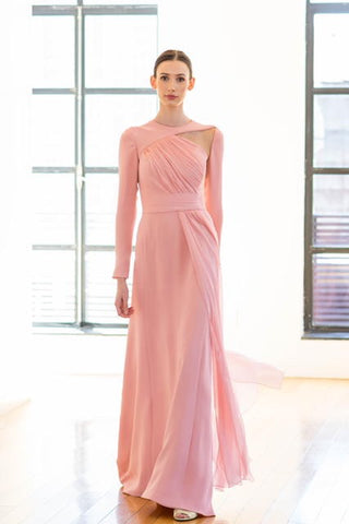 Flamingo Draped Dress
