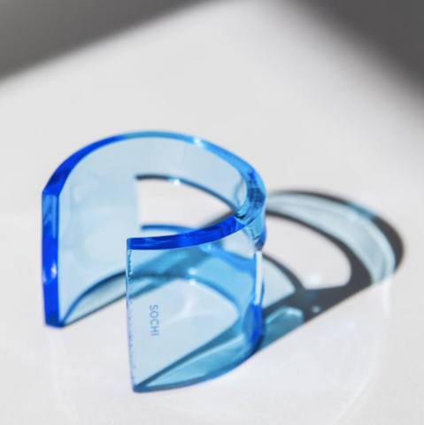 CLEAR BLUE SOCHI CUFF