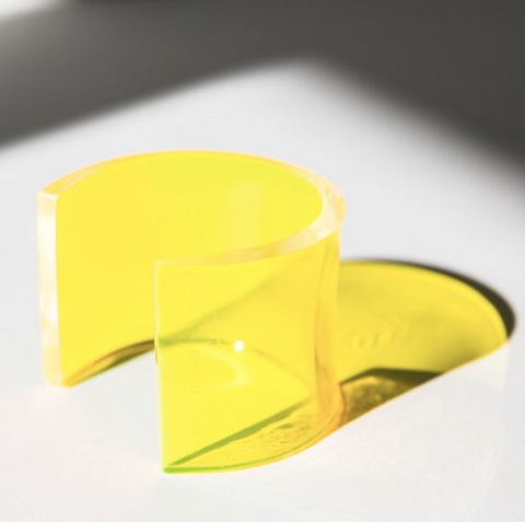 YELLOW SOCHI CUFF