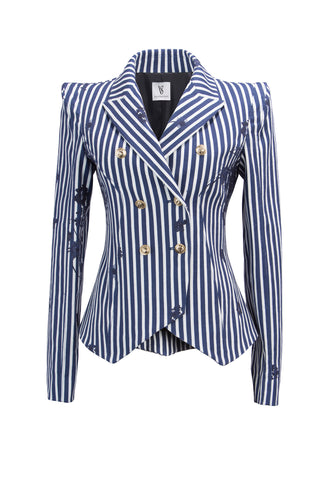 Amanda Blazer Stripes