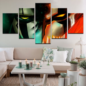 Bleach 5 Panel Canvas Print Wall Art