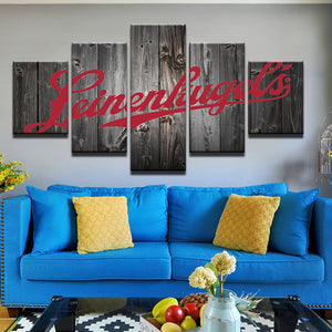 Leinenkugel's 5 Panel Canvas Print Wall Art