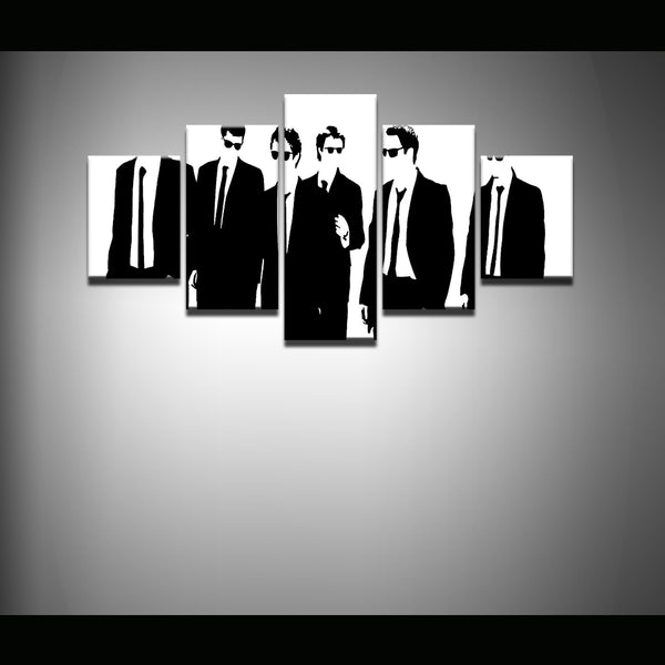 Reservoir Dogs 5 Panel Canvas Print Wall Art