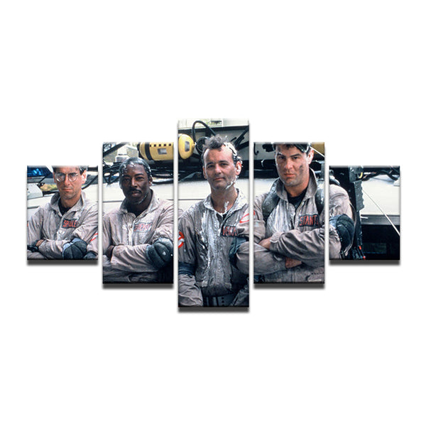 Ghostbusters 5 Panel Canvas Print Wall Art