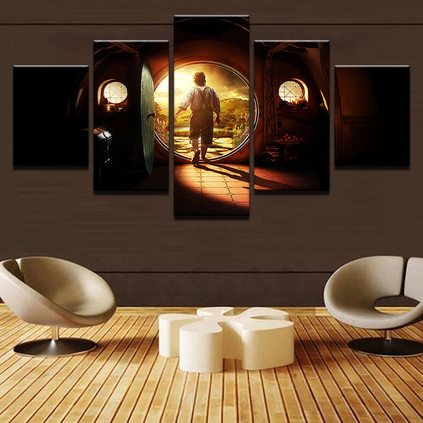 Lord Of The Rings Frodo Baggins 5 Panel Canvas Print Wall Art Canvas Print Got It Here