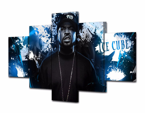 Ice Cube 5 Panel Canvas Print Wall Art