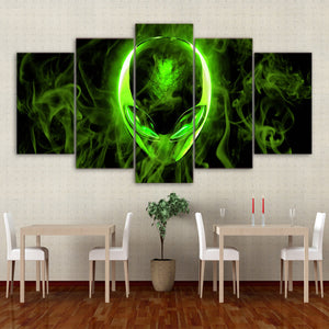 Alienware 5 Panel Canvas Print Wall Art Canvas Print Got It Here