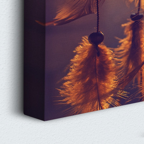 Dream Catcher 5 Panel Canvas Print Wall Art