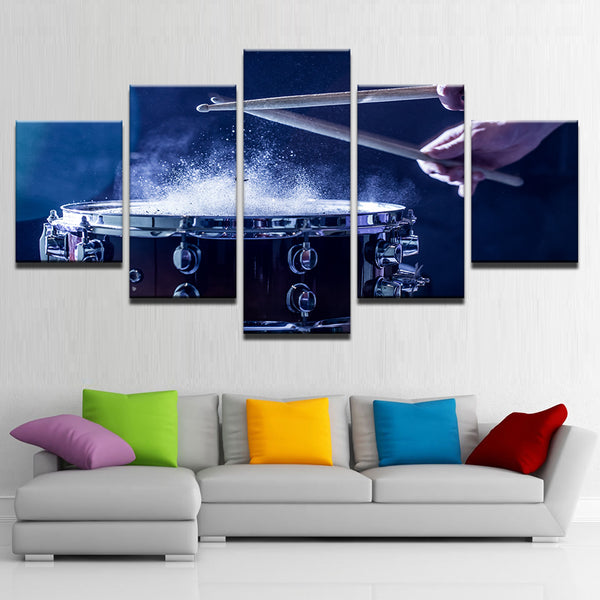 Snare Drum 5 Panel Canvas Print Wall Art Canvas Print Got It Here