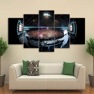 DJ Marshmello In Concert 5 Panel Canvas Print Wall Art Canvas Print Got It Here