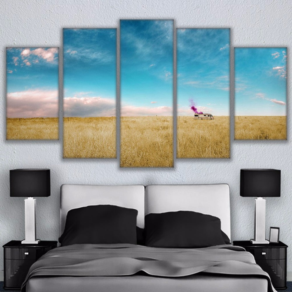 Breaking Bad 5 Panel Canvas Print Wall Art Canvas Print Got It Here