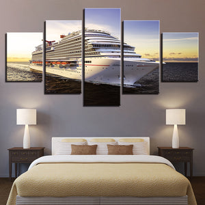 Carnival Vista Cruise Ship 5 Panel Canvas Print Wall Art Canvas Print Got It Here