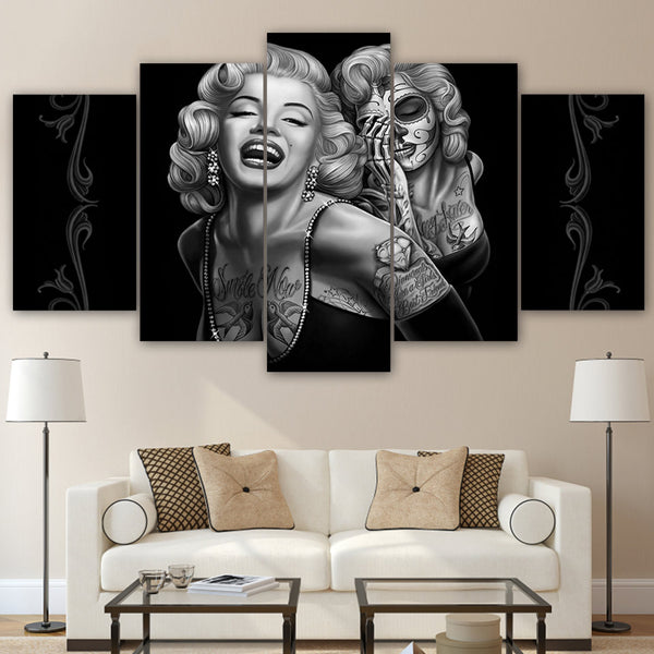 Marilyn Monroe 5 Panel Canvas Print Wall Art Canvas Print Got It Here