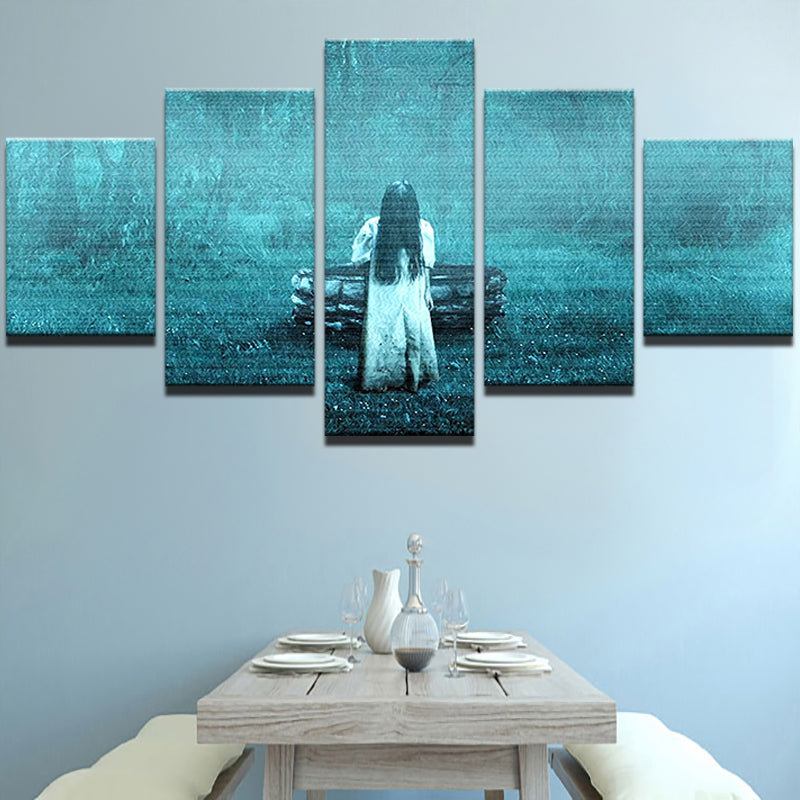 The Ring Movie 5 Panel Canvas Print Wall Art Canvas Print Got It Here