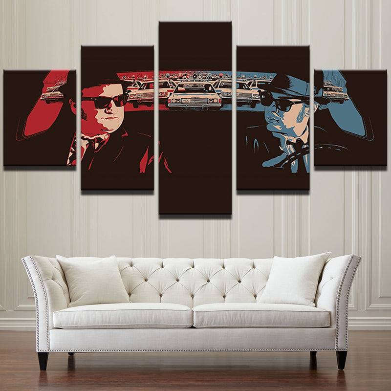 Blues Brothers 5 Panel Canvas Print Wall Art Canvas Print Got It Here