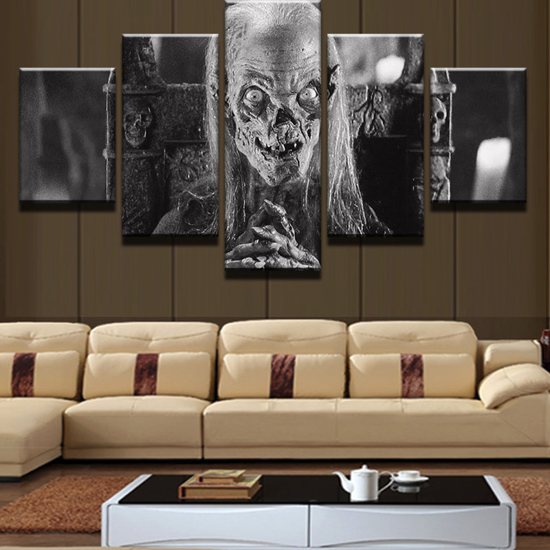 Cryptkeeper Tales From The Crypt 5 Panel Canvas Print Wall Art Canvas Print Got It Here