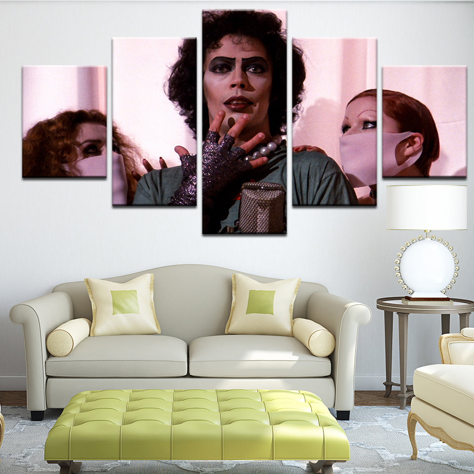 The Rocky Horror Picture Show 5 Panel Canvas Print Wall Art