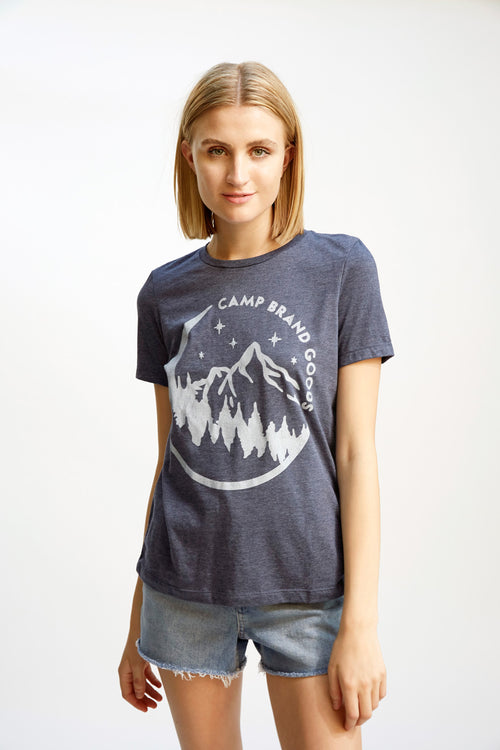 Moonlight Relaxed T-Shirt Navy Heather