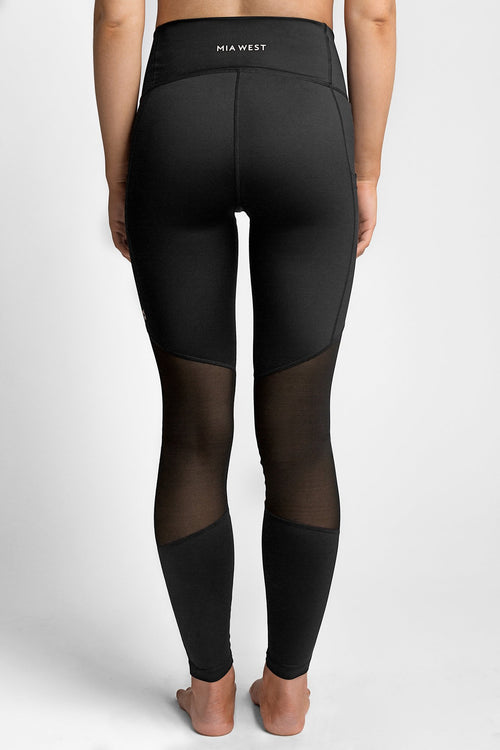 Classic High Waisted Mesh Legging
