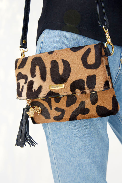 Jane Clutch Leopard