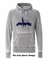 J.America Zen Fleece Hoodie - You Choose the Design! Friday T-Shirt Co.