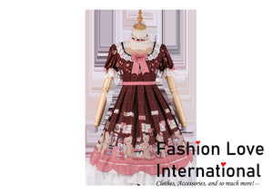 Sweet Bear. Its our Brand dress.  Fashion love international.