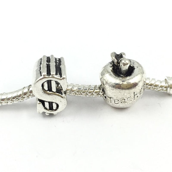 Pohier Dollars  Apple Bead Charms