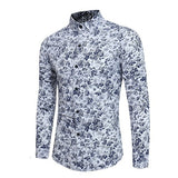 Rose Flower 3D Print Floral Shirt