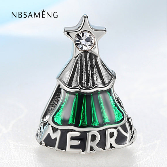 NBSAMENG Christmas Tree Bead Charms
