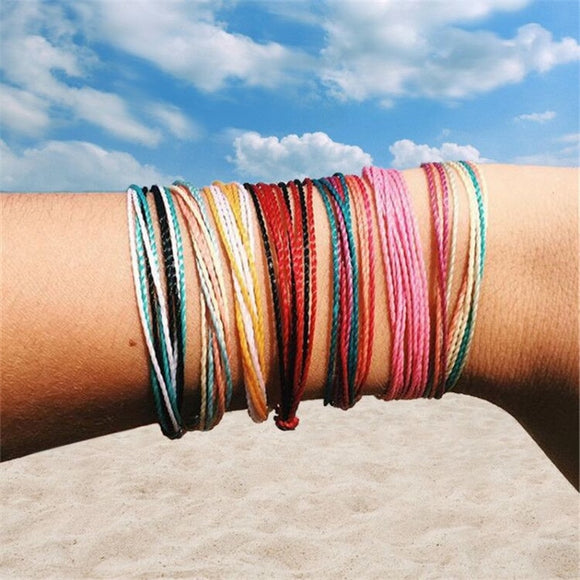 Modeschmuck Colors  Cord Friendship Bracelets