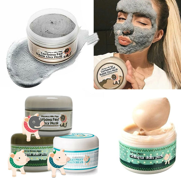 VIBRANT GLAMOUR CARBONATED CLAY MASK