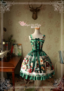 Magic Tea Party Christmas Dress